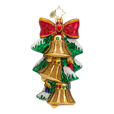 A Chime In Time Bell  (retired) Radko Ornament