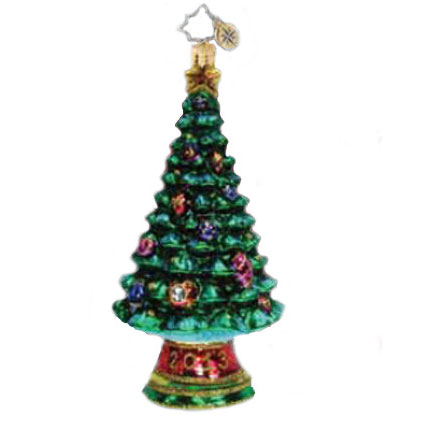 A Prime Of Pine 2013 Dated Christmas Tree Ornament (retired) Radko Ornament