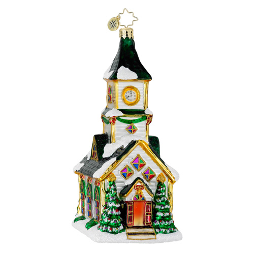 All Are Welcome Church  (retired) Radko Ornament