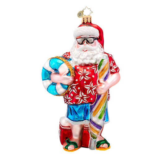 All Summer Santa  (retired) Radko Ornament