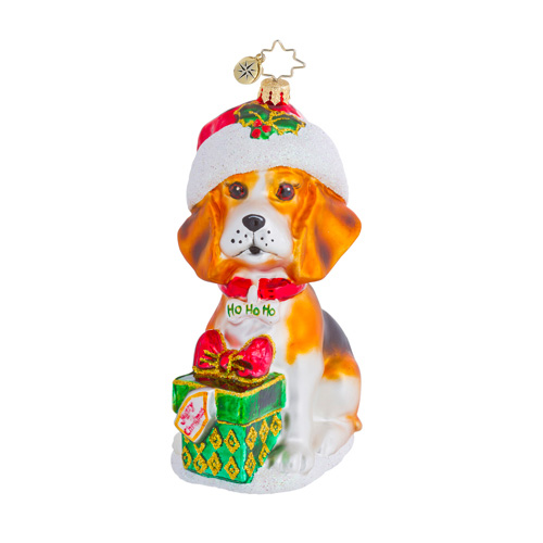 Beagle Buddy Dog  (retired) Radko Ornament