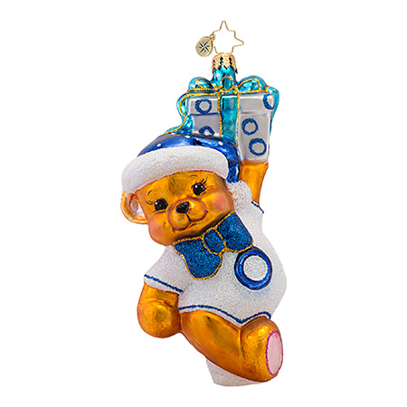 Bear-y Merry Diabetes  (retired) Radko Ornament