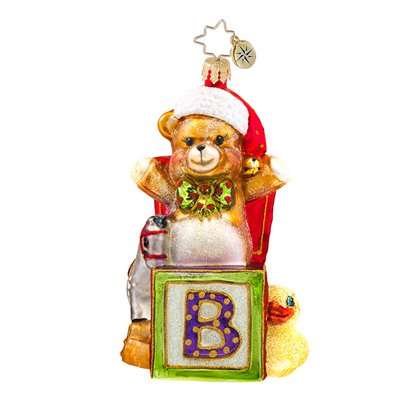 Beary Excited Radko Ornament