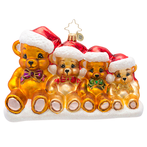 Beary Together  (retired) Radko Ornament