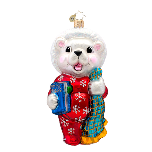 Bedtime Bert Bear  (retired) Radko Ornament