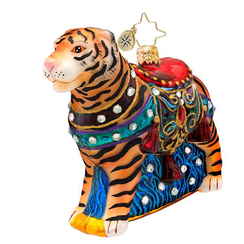 Bengal Beauty Tiger Radko Ornament