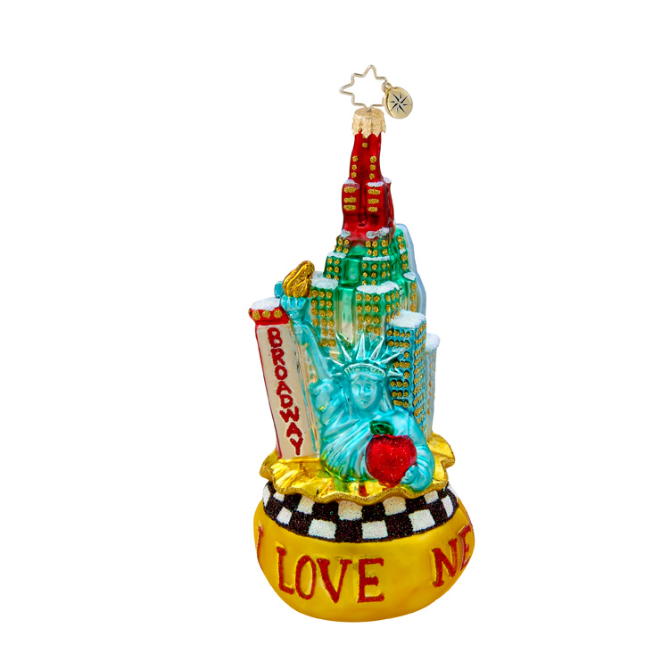 Big City Bag New York  (retired) Radko Ornament