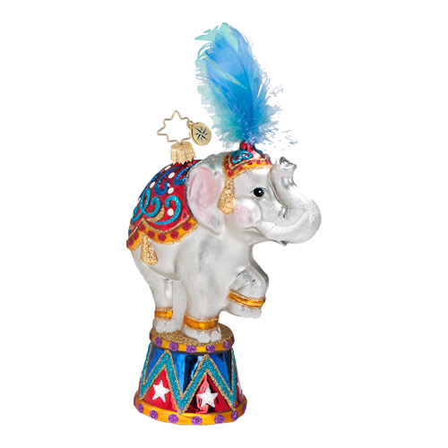 Big Top, Big Fun Circus Animal  (retired) Radko Ornament
