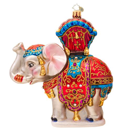 Bombay Dreams Elephant Radko Ornament