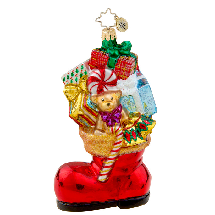 Boot Bounty  (retired) Radko Ornament