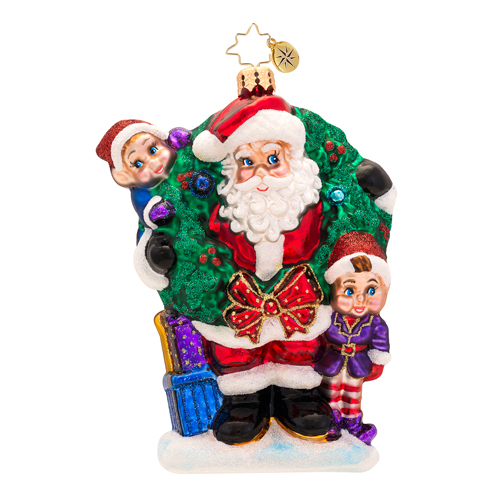 Bring In The Joy Bring In The Fun Radko Ornament