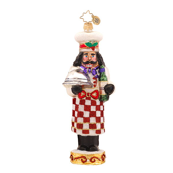 Cafe Cracker Radko Ornament