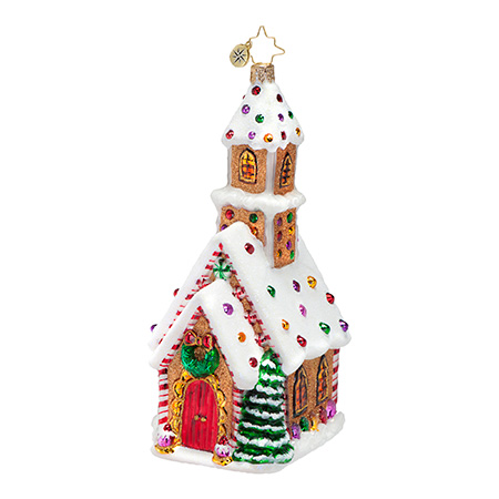 Candied Cathedral Chruch Radko Ornament