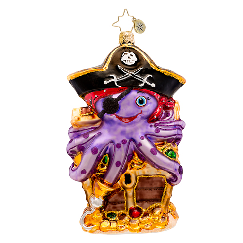 Captain Octo  (retired) Radko Ornament