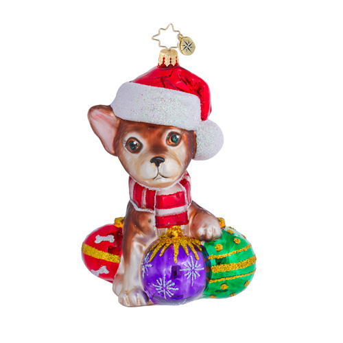 Chihuahua Chiquito Dog  (retired) Radko Ornament