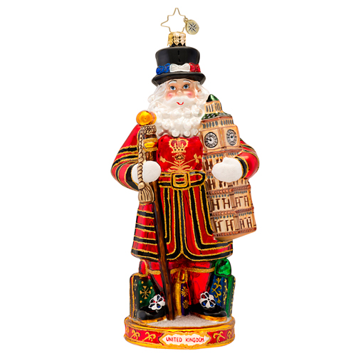Christmas Crown Guard Ornament Radko Ornament