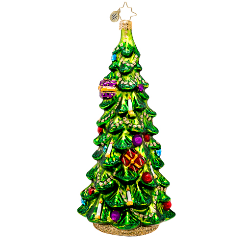 Christmas Glow Spruce  (retired) Radko Ornament