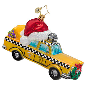 Christmas In The City New York  (retired) Radko Ornament