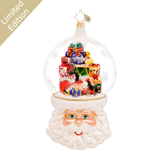 Christmas On My Mind Limited Edition Ornament (retired) Radko Ornament