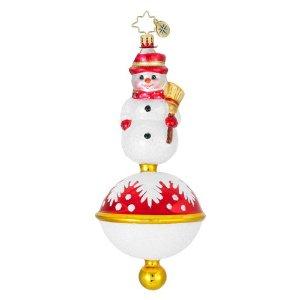 Classic Littlest Snowman Radko Ornament