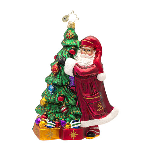 Claus Family Favorites Santa  (retired) Radko Ornament