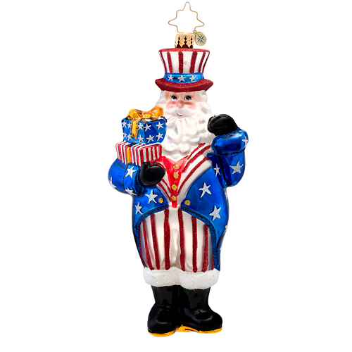 Constitution Claus  (retired) Radko Ornament