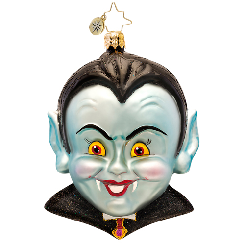Count Spooks-a-lot Ornament (retired) Radko Ornament