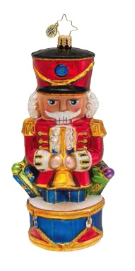 Crack It Open Nutcracker  (retired) Radko Ornament