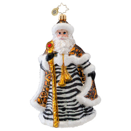 Designer Claus Santa  (retired) Radko Ornament