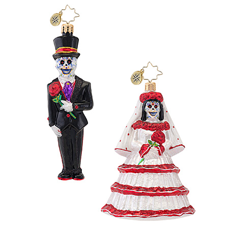 Drop Dead Gorgeous Groom  (retired) Radko Ornament