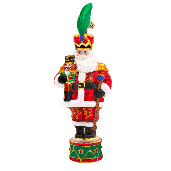 Drum Major Santa Radko Ornament