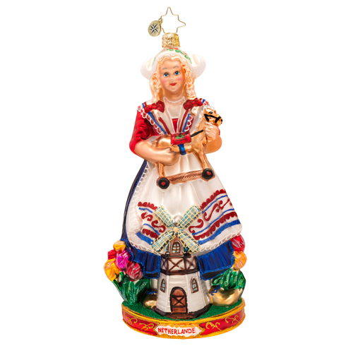 Dutch Greetings Ornament Radko Ornament