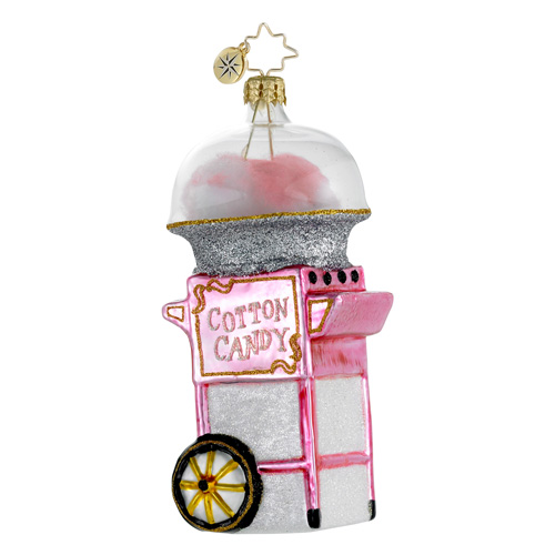 Fairground Favorite Cotton Candy Radko Ornament