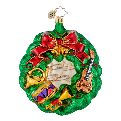 Finely Tuned  (retired) Radko Ornament