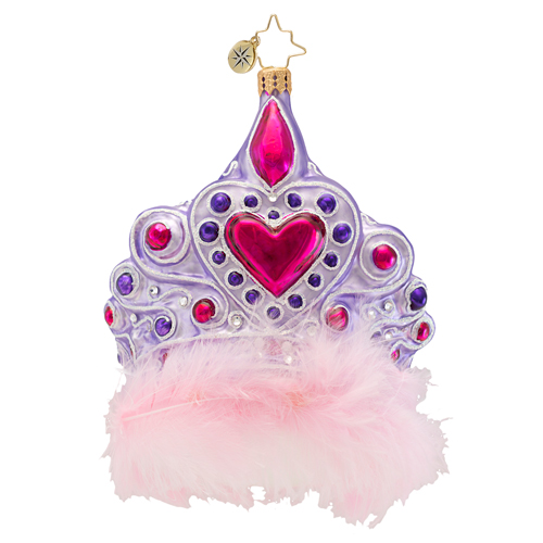 Fit For A Princess Tiara  (retired) Radko Ornament