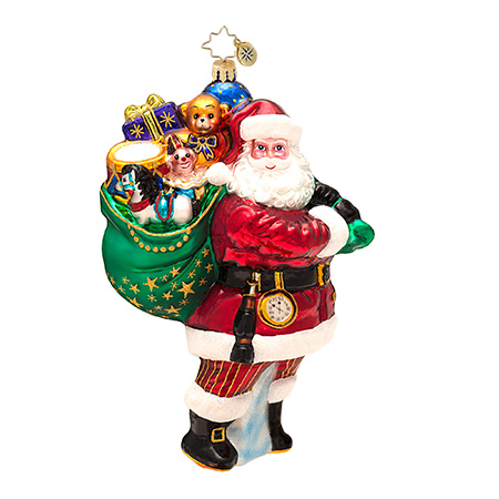 For All The Girls And Boys Santa Radko Ornament