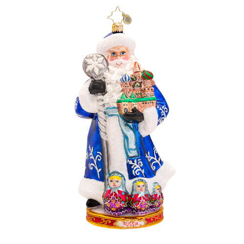From Russia With Love Ornament Radko Ornament