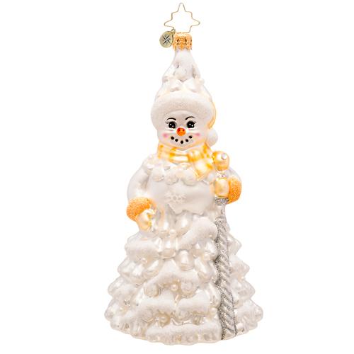 Frosted Fir Radko Ornament