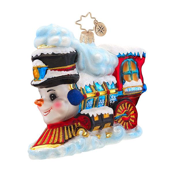 Frosty Express Radko Ornament