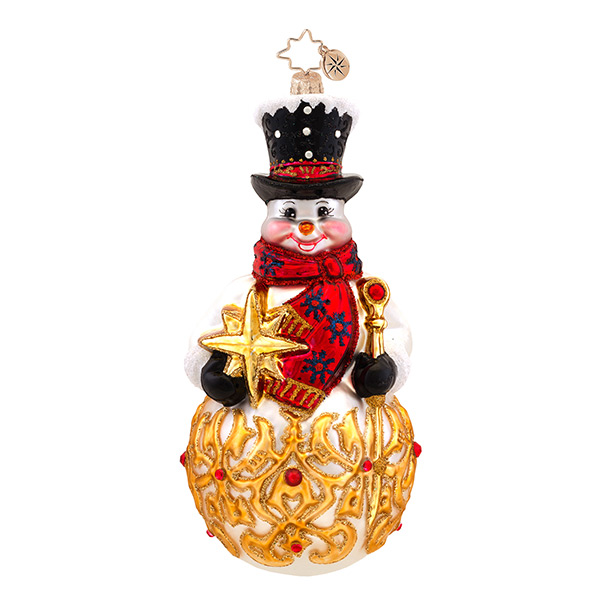 Frosty Finial Radko Ornament