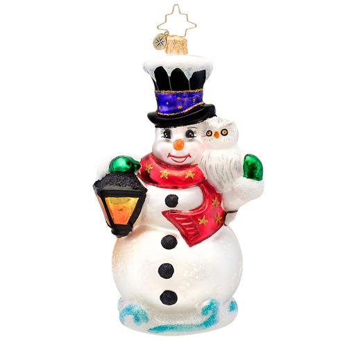 Frosty Midnight Meeting Radko Ornament