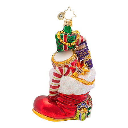 Gifts To Boot  (retired) Radko Ornament