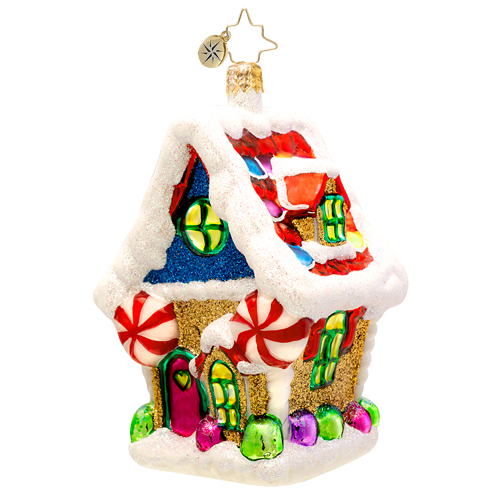 Ginger Sweet Hideaway  (retired) Radko Ornament