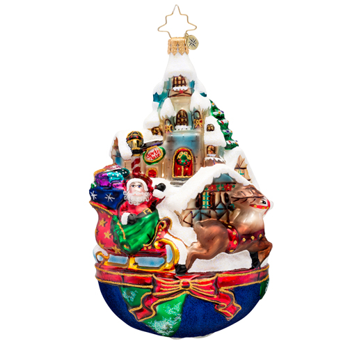 Global Sleighride Radko Ornament