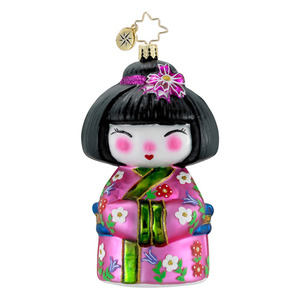 Go-go Geisha  (retired) Radko Ornament