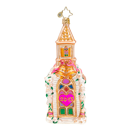 Goin' To The Chapel Wedding  (retired) Radko Ornament