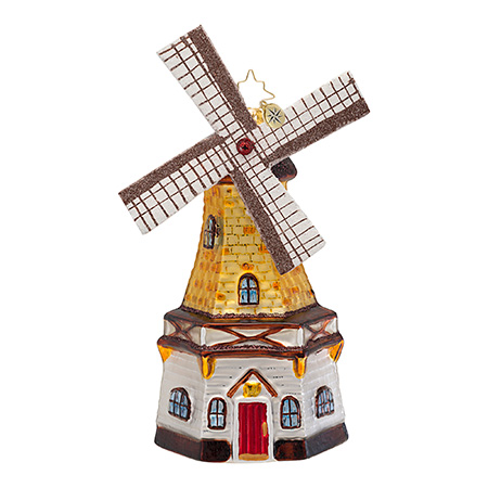 Going Dutch Windmill  (retired) Radko Ornament