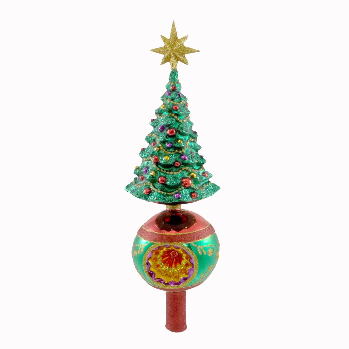 Grand Tree Finial (retired) Radko Ornament