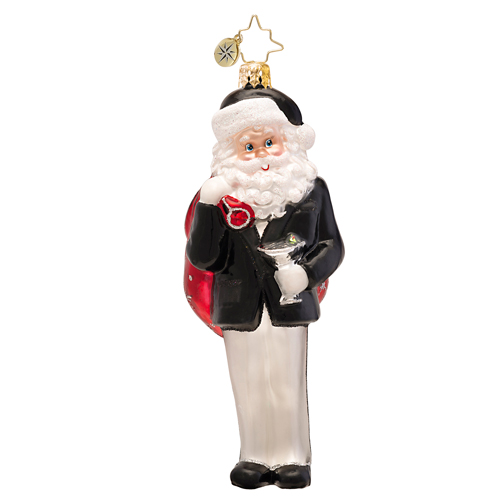 Happy Hour Holiday  (retired) Radko Ornament