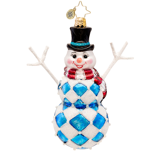Harlequin Harry  (retired) Radko Ornament